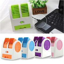 Load image into Gallery viewer, 201  Dual Bladeless Mini Air Conditioner - Gujjuseller.com
