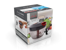 Load image into Gallery viewer, 080 Manual Food Chopper, Compact & Powerful Hand Held Vegetable Chopper/Blender - Gujjuseller.com