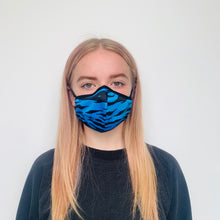 Load image into Gallery viewer, Female Tiger Blue Face Mask