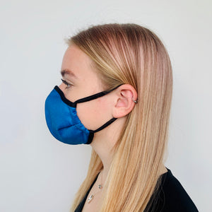 Female Denim-Look Face Mask