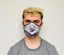 Load image into Gallery viewer, Male Grey Design Face Mask