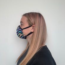 Load image into Gallery viewer, Female Multi-Wave Face Mask