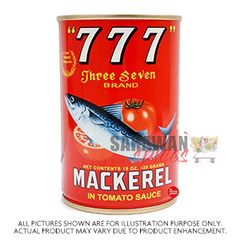 777 Mackeral In Tomato 425G