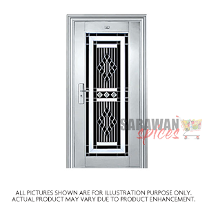 Ak Temple 12X8inch Metal Door