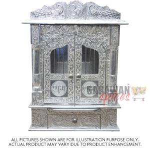 Ak Temple 15X9inch Metal Door