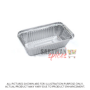 Alum Foil Container 3Comp 10Pc