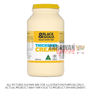 Black&Gold Thickened Cream 600Ml