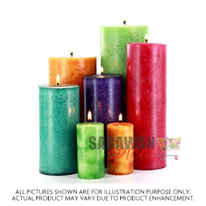 Candle Multi Colour