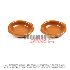 Clay Diya Bowl 2Pc
