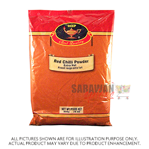 Deep Red Chilli Pwd 800G