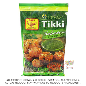 Deep Sabudana Tikki 10Pc