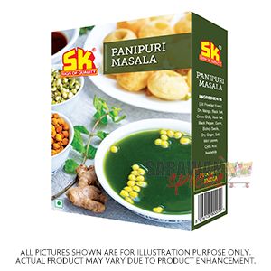 Dry Pani Puri  With Masala 200G