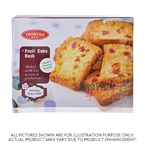 Frontier Fruit Cake Rusk 500Gm