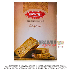 Frontier Premium Eggless Rusk 1Kg