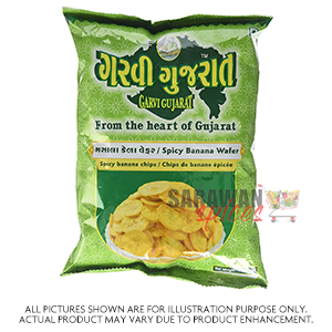 Garvi Guj Yellow Banana Wafer 180G