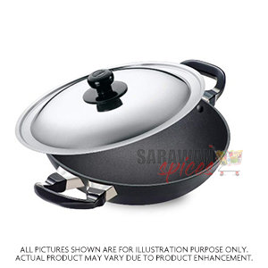 Hawkins Deep Fry Pan 4 Lt With Lid