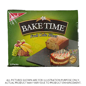 Hilal Bake Time Cake (Fruit) 6 Pack