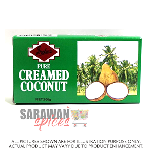 Indus Cream Coconut Block 200G