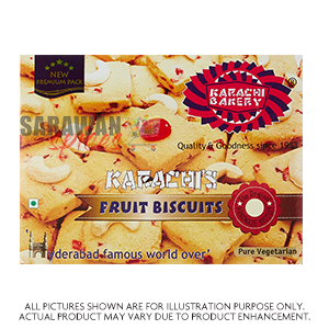 Karachi Fruit Biscuits 400G