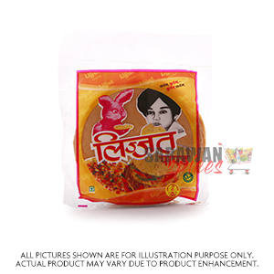 Lijjat Red Chilly Papad 200G