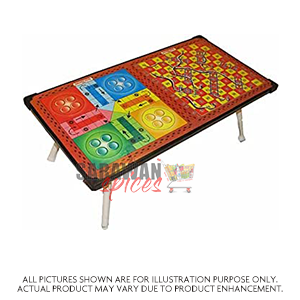Ludo Wooden Multipurpose Table