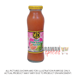 Md Real Pink Guava Nectar  200 Ml
