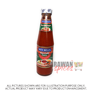 Mitchells Hot Chilli Sauce 300G