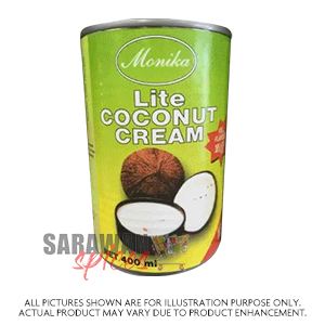 Monika Lite Coconut Cream 400Ml