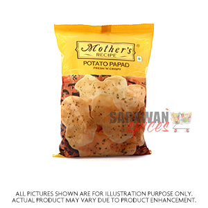 Mothers Potato Papad 75G