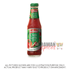 National Chilli Garlic Sauce  300G