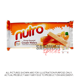 Nutro Orange Wafers 75G