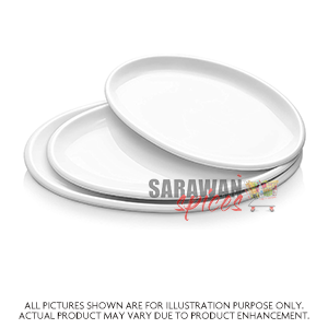 Oval Plates 25 Pack  (300*230)