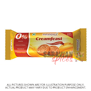 Patanjali Creamfeast Orange Biscuit 84G