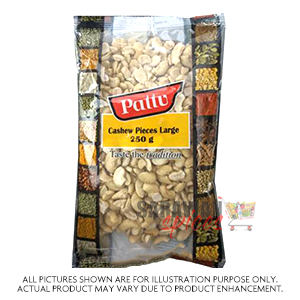 Pattu Cashew Pieces Large 250G