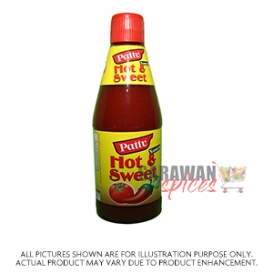 Pattu Hot & Swt Sauce 500G