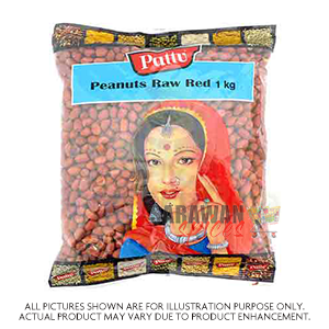 Pattu Peanuts Raw Red 1Kg