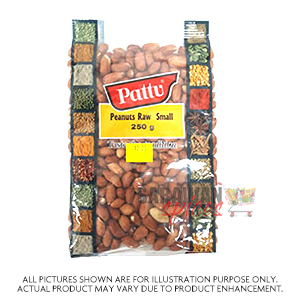 Pattu Peanuts Raw Small 250G