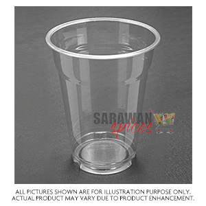 Plastic 425Ml Clear Cups 50Pcs
