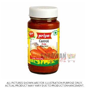 Priya Carrot Pickle 300G