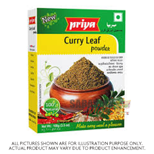 Priya Curry Leaf Pwd  100 g