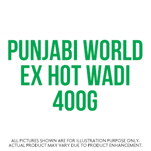 Punjabi World Ex Hot Wadi 400G