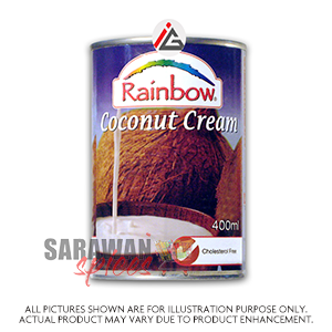 Rainbow Coconut Cream 400Ml