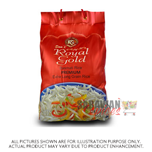 Royal Gold Premium Basmati Rice 5Kg