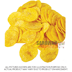 Sabrini Banana Chips 500Gm
