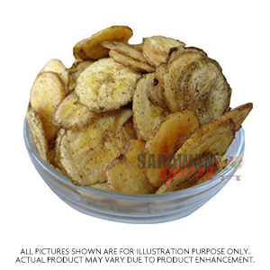 Sabrini Black Pepper Banana Chips 500Gm