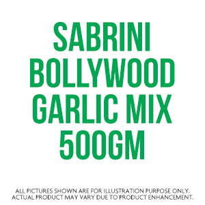 Sabrini Bollywood Garlic Mix 500Gm