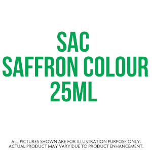 Sac Saffron Colour 25Ml