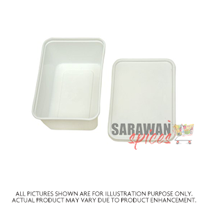 Take Away Rectangle Containers 750Ml (5Pc)