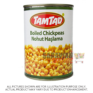 Tamtad Chickpeas Boiled 850G