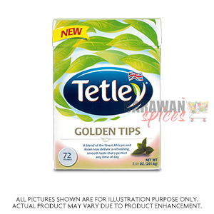 Tetley Golden Tips 72 Tea Bags